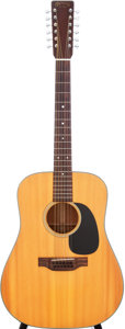 Musical Instruments:Acoustic Guitars, 1974 Martin D-12-18 Natural Acoustic Guitar, Serial # 351997....