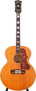 Musical Instruments:Acoustic Guitars, 1957 Gibson J-200 Natural Acoustic Guitar, Serial # U65318...