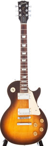 Musical Instruments:Electric Guitars, 1975 Gibson Les Paul Standard Tobaccoburst Electric Guitar, Serial# 813095596....