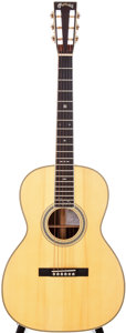 Musical Instruments:Acoustic Guitars, 2006 Martin Mark Knopfler 000-40S Natural Acoustic Guitar, Serial #1186618....