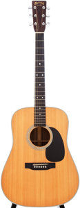 Musical Instruments:Acoustic Guitars, 2001 Martin D-28 Natural Acoustic Guitar, Serial # 809611....