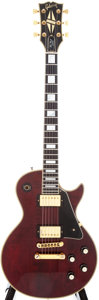 Musical Instruments:Electric Guitars, 1977 Gibson Les Paul Custom Cherry Electric Guitar, Serial #73437048....