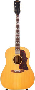 Musical Instruments:Acoustic Guitars, 1952 Gibson SJ Natural Acoustic Guitar, Serial # Z2938....