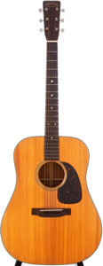 Musical Instruments:Acoustic Guitars, 1958 Martin D-18 Natural Acoustic Guitar, Serial # 160962....
