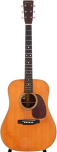 Musical Instruments:Acoustic Guitars, 1952 Martin D-28 Natural Acoustic Guitar, Serial # 127380....