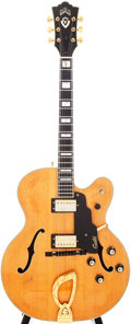 Musical Instruments:Electric Guitars, 1975 Guild X500 Blonde Semi-Hollow Electric Guitar, Serial # 120091....