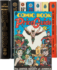 Overstreet Comic Book Price Guide Group (Robert M. Overstreet/Harmony Books, 1974-87). Condition: Average NM 9.4.... (To...