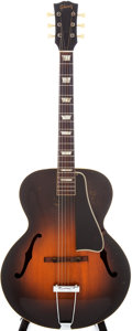 Musical Instruments:Acoustic Guitars, 1950s Gibson L-50 Sunburst Archtop Acoustic Guitar, Serial # 5575....