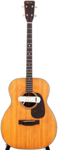 Musical Instruments:Acoustic Guitars, 1960 Martin 0-18T Natural Tenor Acoustic Guitar, Serial #172697....