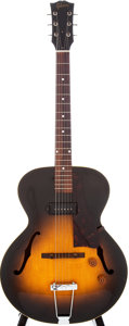 Musical Instruments:Electric Guitars, 1951 Gibson ES-125 Sunburst Semi-Hollow Electric Guitar, Serial #9609....