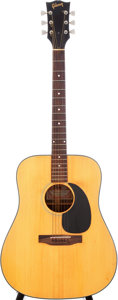 Musical Instruments:Acoustic Guitars, 1969 Gibson Blueridge Custom Acoustic Guitar, Serial # 736195....