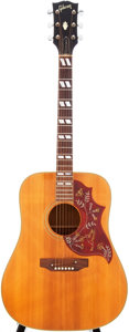 Musical Instruments:Acoustic Guitars, 1972 Gibson Hummingbird Natural Acoustic Guitar, Serial #956054....