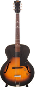 Musical Instruments:Electric Guitars, 1955 Gibson ES-125 Sunburst Archtop Electric Guitar, Serial #W2687....