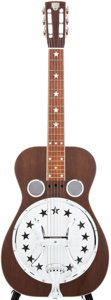 Musical Instruments:Resonator Guitars, 1976 Dobro Bicentennial Resonator Guitar, Serial # AD1937....