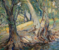 Paintings, OTTO HENRY SCHNEIDER (American, 1865-1950). Forest Landscape. Oil on canvas. 30 x 35 inches (76.2 x 88.9 cm). Signed low...