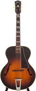 Musical Instruments:Acoustic Guitars, 1949 Gibson L-4 Sunburst Acoustic Archtop Guitar, Serial # A4089....