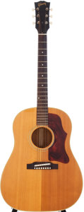 Musical Instruments:Acoustic Guitars, 1965 Gibson J-50 Natural Acoustic Guitar, Serial # 322162....