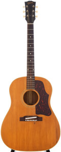 Musical Instruments:Acoustic Guitars, 1960s Gibson J-50 Natural Acoustic Guitar, Serial # 103845....