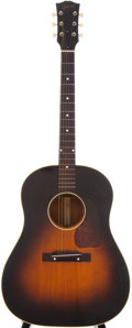 Musical Instruments:Acoustic Guitars, 1952 Gibson J-45 Sunburst Acoustic Guitar, Serial # Z689....