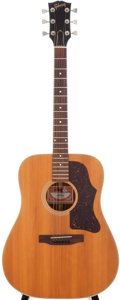 Musical Instruments:Acoustic Guitars, 1978 Gibson J-50 Natural Acoustic Guitar, Serial # 71308019....