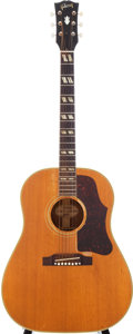 Musical Instruments:Acoustic Guitars, 1961 Gibson Country Western Natural Acoustic Guitar, Serial #39999....
