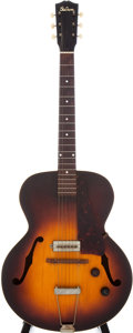 Musical Instruments:Electric Guitars, 1940 Gibson ES-150 Sunburst Archtop Electric Guitar....