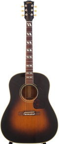 Musical Instruments:Acoustic Guitars, 1953 Gibson SJ Sunburst Acoustic Guitar, Serial # Y5083....