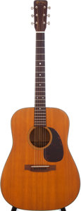Musical Instruments:Acoustic Guitars, 1961 Martin D-18 Natural Acoustic Guitar, Serial # 180469....