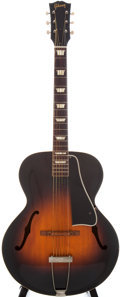 Musical Instruments:Acoustic Guitars, Circa 1950 Gibson L-50 Sunburst Archtop Acoustic Guitar, Serial #1026-5....