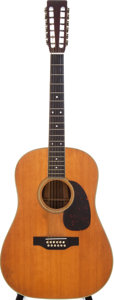 Musical Instruments:Acoustic Guitars, 1966 Martin D-12-35 Natural 12-String Acoustic Guitar, Serial # 215820....