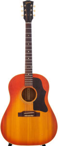 Musical Instruments:Acoustic Guitars, 1964 Gibson J-45 Sunburst Acoustic Guitar, Serial # 262111....