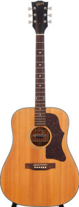 Musical Instruments:Acoustic Guitars, 1970 Gibson J-50 Deluxe Natural Acoustic Guitar....