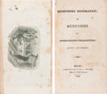 Books:Americana & American History, [Anonymous]. Eccentric Biography, or Sketches of RemarkableCharacters, Ancient and Modern. Boston: Nathaniel Ba...