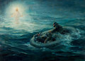 Fine Art - Painting, American:Contemporary   (1950 to present)  , ANTON OTTO FISCHER (American, 1882-1962). Vision at Sea. Oilon canvas . 25-1/2 x 35-1/2 inches (64.8 x 90.2 cm). Signed...
