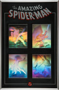Memorabilia:Comic-Related, Spider-Man Hologram Set Limited Series #8/2500 (Marvel, Dynamic Forces, undated)....