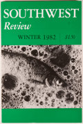 Books:Americana & American History, Southwest Review. Fifteen Issues. Dallas: SMU, [1982-1985].First editions. Octavo wrappers. Very good or better of ...