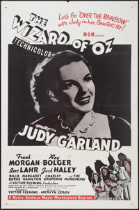 """The Wizard of Oz (MGM, R-1955). One Sheet (27"""" X 41""""). Fantasy"""