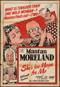 """Movie Posters:Black Films, She's Too Mean for Me (Toddy Pictures, 1948). One Sheet (27"""" X41""""). Black Films.. ..."""