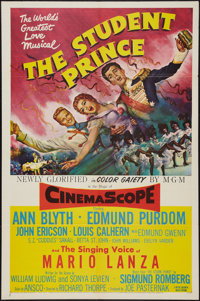 "The Student Prince (MGM, 1954). One Sheet (27"" X 41""). Musical"