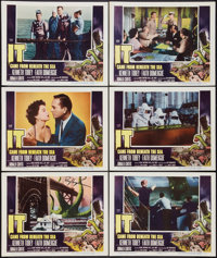 "It Came from Beneath the Sea (Columbia, 1955). Autographed Lobby Card, and Lobby Cards (5) (11"" X 14""). Scienc..."