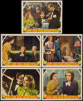 """Movie Posters:Romance, And One was Beautiful (MGM, 1940). Lobby Cards (5) (11"""" X 14""""). Romance.. ... (Total: 5 Item)"""