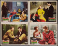 "Movie Posters:Sports, Follow the Sun (20th Century Fox, 1951). Lobby Cards (4) (11"" X 14""). Sports.. ... (Total: 4 Items)"