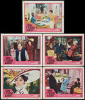"Movie Posters:Musical, My Fair Lady (Warner Brothers, 1964). Lobby Cards (5) (11"" X 14""). Musical.. ... (Total: 5 Items)"