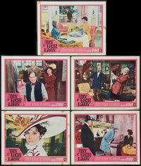 """My Fair Lady (Warner Brothers, 1964). Lobby Cards (5) (11"""" X 14""""). Musical. ... (Total: 5 Items)"""