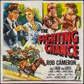 """Movie Posters:Sports, The Fighting Chance (Republic, 1955). Six Sheet (81"""" X 81""""). Sports.. ..."""