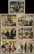 "Movie Posters:Comedy, What a Widow! (United Artists, 1930). Lobby Cards (7) (11"" X 14"").Comedy.. ... (Total: 7 Items)"