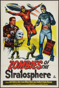 """Movie Posters:Serial, Zombies of the Stratosphere (Republic, 1952). One Sheet (27"""" X 41""""). Serial.. ..."""