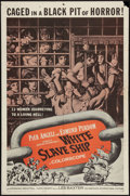 "Movie Posters:Adventure, White Slave Ship (American International, 1962). One Sheet (27"" X41""). Adventure.. ..."