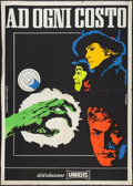 "Movie Posters:Action, Grand Slam (Paramount, 1968). Italian 2 - Foglio (39"" X 55""). Action.. ..."