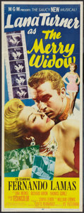"""Movie Posters:Musical, The Merry Widow (MGM, 1952). Insert (14"""" X 36""""). Musical.. ..."""